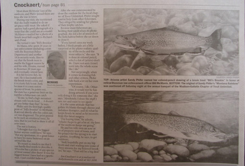 Second Page of Jim Cnockaert's Article in Bozeman Daily Chronicle