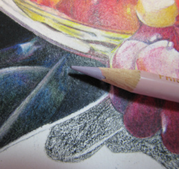 Colored Pencil Close UP